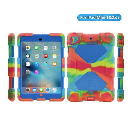 newest 55078 54a19 iPad Mini 3/iPad Mini 2/iPad Mini Case-Aceguarder Shockproof Smart Cover  for Kids with Screen Protector & Kickstand for Apple iPad Mini 1/2/3 at ...