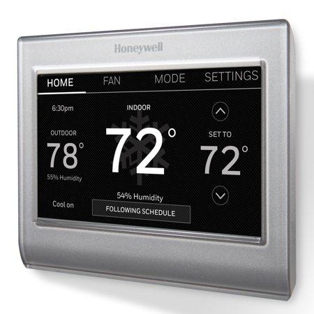 honeywell rth9585wf smart thermostat no hub required. Black Bedroom Furniture Sets. Home Design Ideas