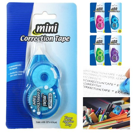 5X Roller Correction Tape Student White Out School Office Supply Stationery -