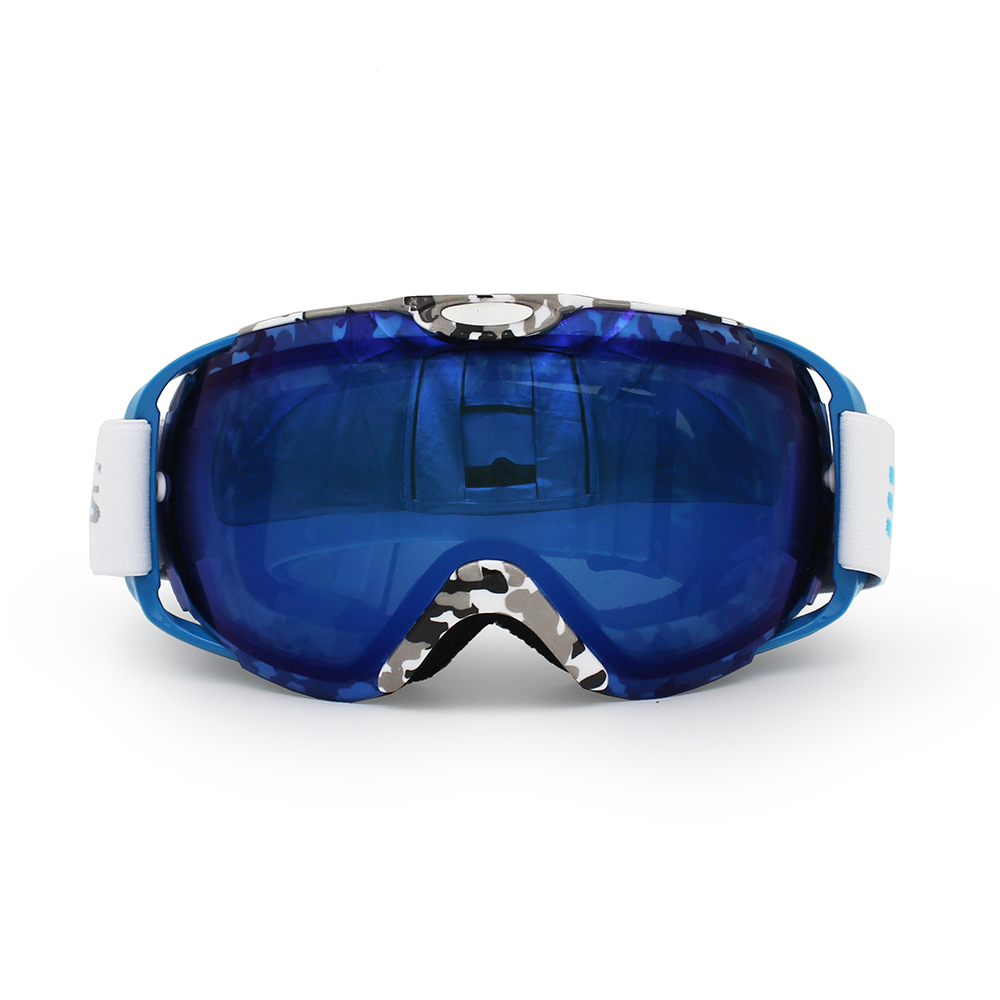 Ediors Windproof Snowmobile Ski Goggles Protective Eyewear Anti Fog Double Lens All Mountain   UV Protection by Ediors
