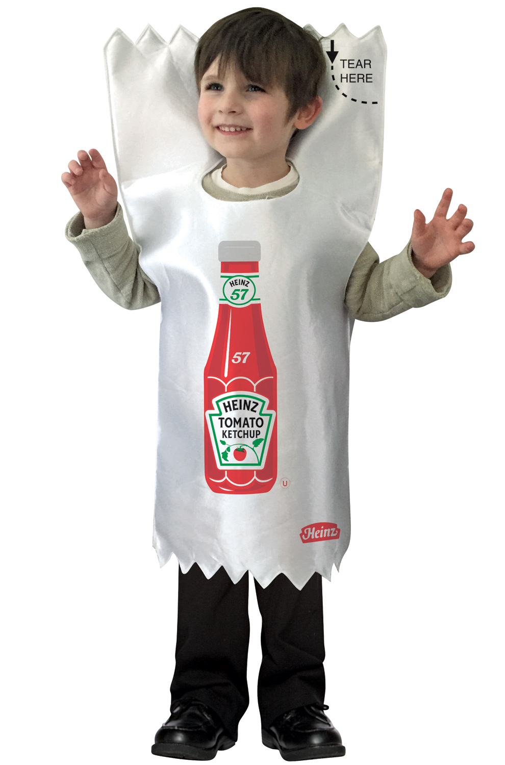 Infant Ketchup Packet Costume