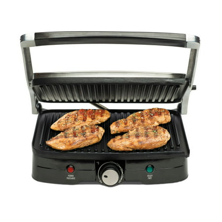 Hamilton Beach Indoor Grill with Panini Press | Model# 25334-MX