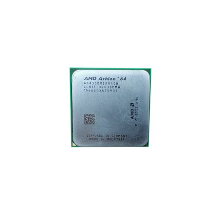 Refurbished AMD Athlon 64 3500+ 2.2GHz Socket AM2 2 GT/s Desktop CPU