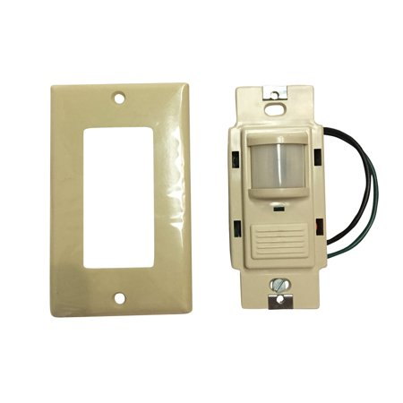 Sensor Switch Lithonia Wsd Pdt P Passive Dual Technology Dual Relay Vacancy Motion Sensing Wall Swit