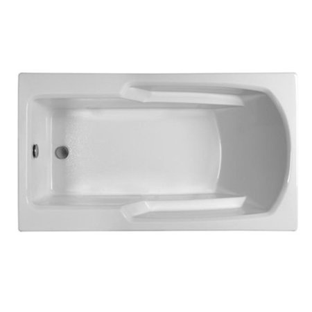 32' Soaker Bathtub (Reliance Baths R6032ERRS-B; Rectangular 59 x 32 in. Soaking Bathtub With End Drain, Biscuit Finish)