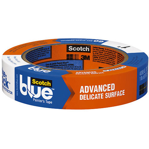 ScotchBlue Painter's Tape Delicate Surfaces with Advanced Edge-Lock Paint Line Protector
