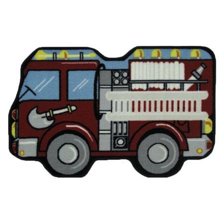 - Fun Rugs Fire Engine 31
