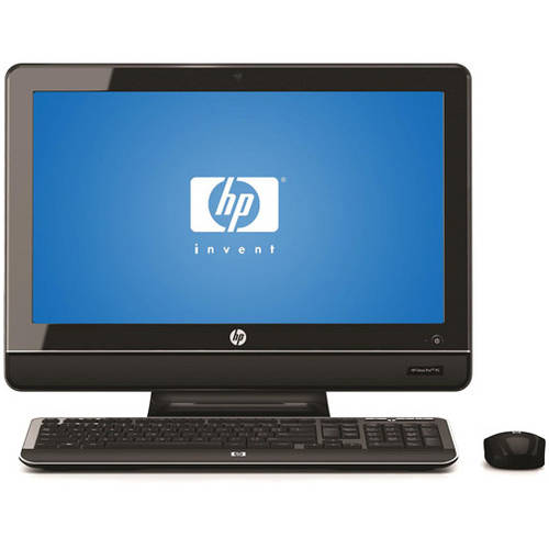 HP Refurbished Black Omni Pro110 All - In - One Desktop PC with Intel Pentium E5700 Processor, 4GB Memory, 20 Monitor, 500GB Hard Drive and Windows 7 Professional