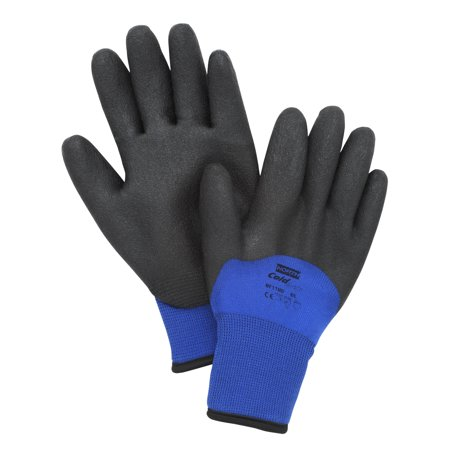 NorthFlex Cold Grip PVC Coated Insulated Gloves NF11HD Small, Pair