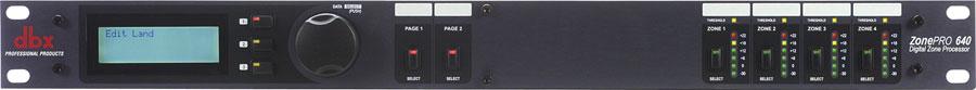 dbx ZonePro 640 Digital Zone Processor by