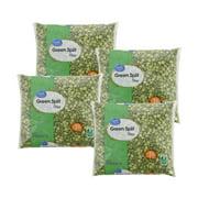 (4 Pack) Great Value Green Split Peas, 16 oz