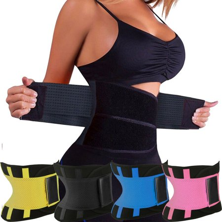 Sauna Slim Belt - Hot Sweat Sauna Womens Neoprene Body Shaper Corset Slimming Waist Trainer Slim Belt Gym Shapewear