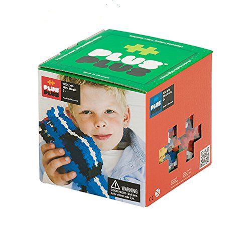 "Plus-Plus /""Mini Basic/"" Building Blocks 300-Piece Multi-Colour"
