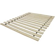 PostureLoft Ovation Attached Solid Wood Bed Support Slats-Bunkie Board Full