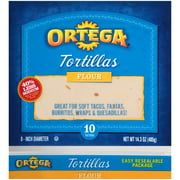 Ortega Flour Tortillas, 10 count, 14.3 oz