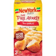 New York Bakery Soft Pull Aparts Garlic Bread, 2 ct, 12 oz