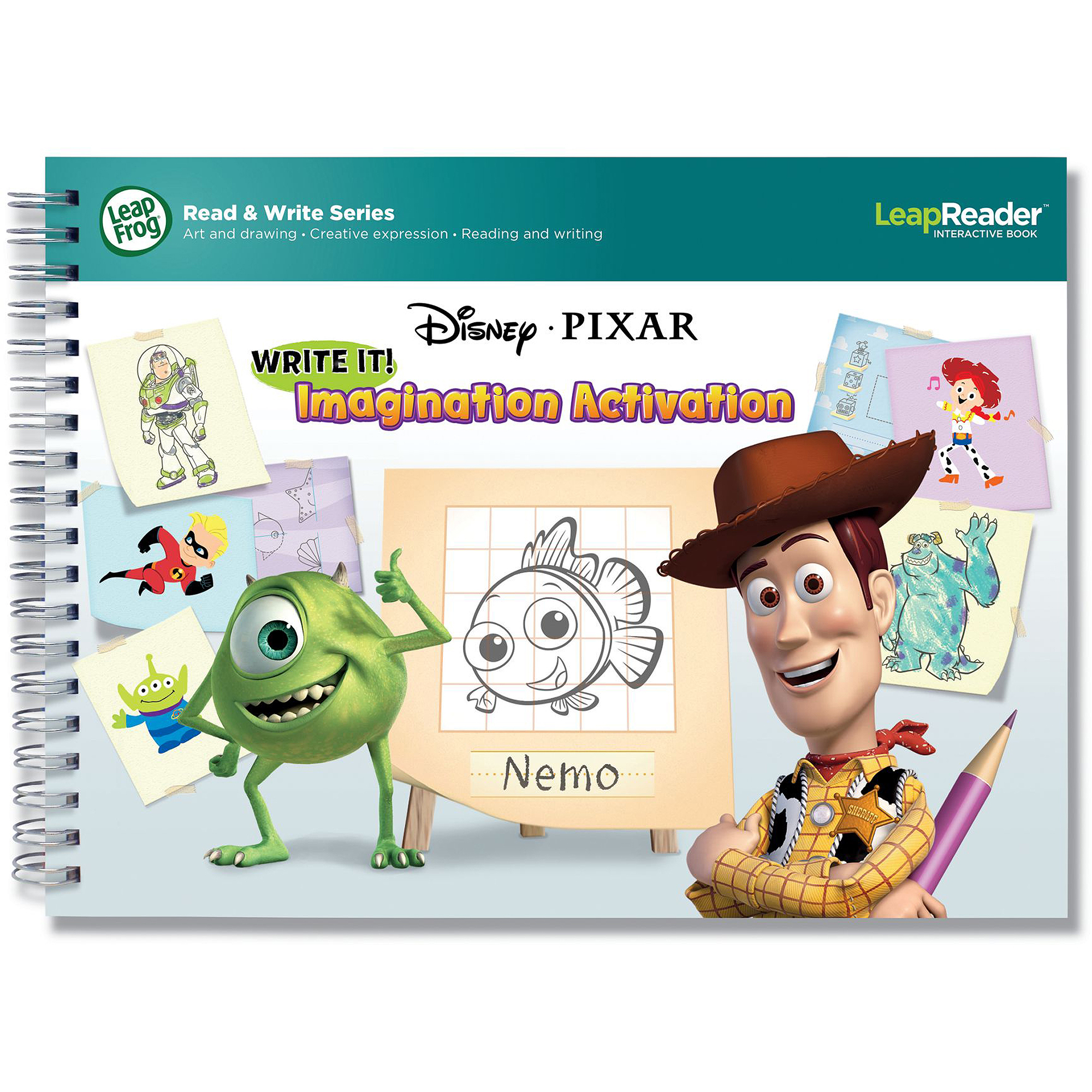 Leapreader writing paper