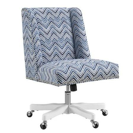 Latitude Run Carrol Chevron Mid Back Desk Chair