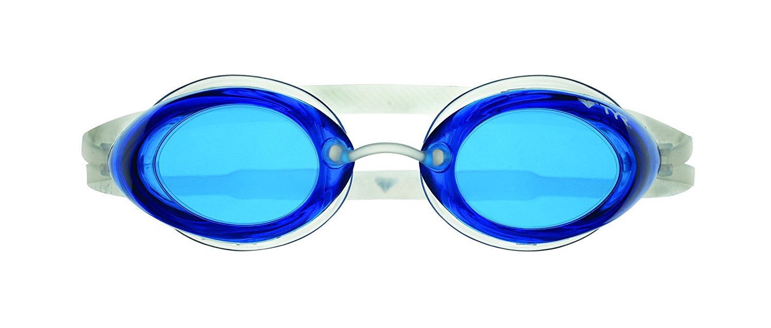 Tracer Racing Goggle (Blue), Tracer Goggle has a sleek, low-profile lens shape that reduces drag while still allowing... by