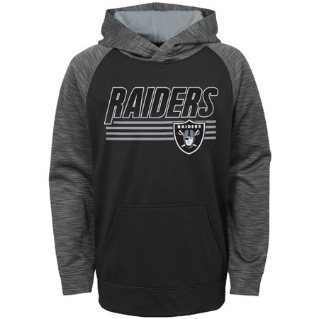 Toddler Black Oakland Raiders Fleece Hoodie