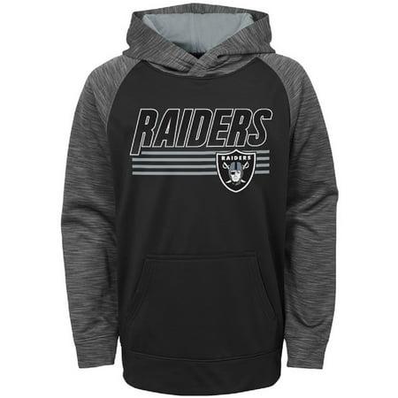 Toddler Black Oakland Raiders Fleece Hoodie (Oakland Raiders Salute To Service Hoodie Xl)