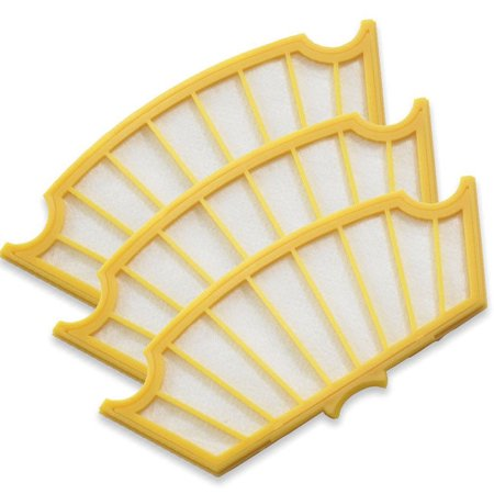 Eshoppercity  Pack of 3 Robot 81501 Roomba 500 535 510 530 540 550 560 600 Series Air Filter Replacement Vacuum 570