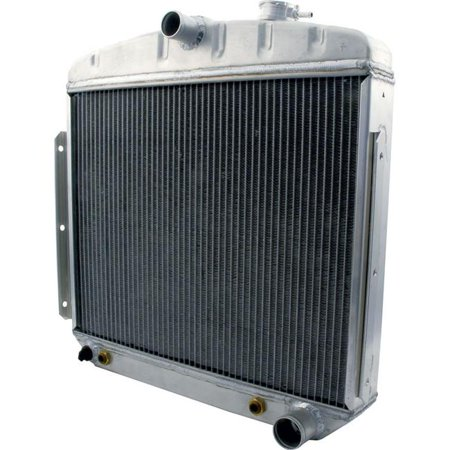 Allstar Performance ALL30005 Radiator for 1955-1956 Chevy 6 Cylinder with  Transmission Cooler