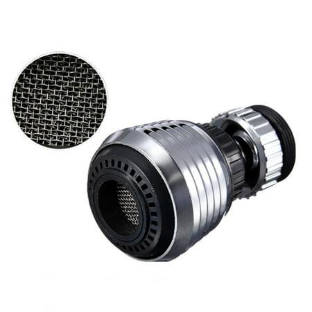 Faucet Aerator Adapters - Wideskall® 360° Rotate Swivel Dual Settings Nozzle Aerator Faucet Adapter Water Saving Tap