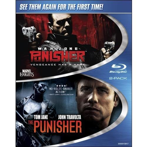 Punisher / Punisher 2: War Zone (Double Feature) (Blu-ray) (Widescreen)