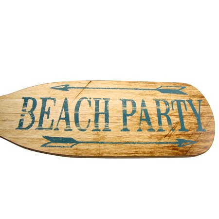 Wooden Tiki Bar - Wood Beach Party Oar Wooden Boat Paddle Sign Tiki Room/Bar/Pub/Summer Home Decor