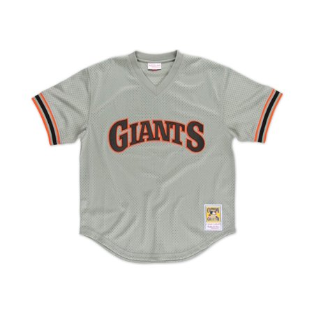 Will Clark San Francisco Giants Mitchell & Ness Authentic 1989 BP Jersey by