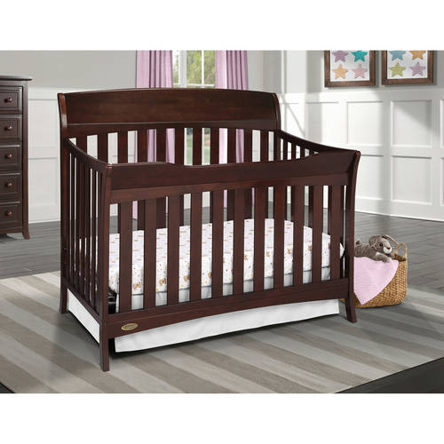 Graco Lennon 4-in-1 Convertible Crib, Choose Your Finish