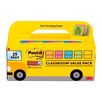 Post-it Super Bus Cabinet Pack Sticky Notes