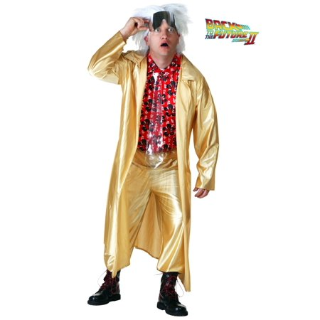 Back to the Future 2015 Doc Brown Costume - Doc Brown Cosplay