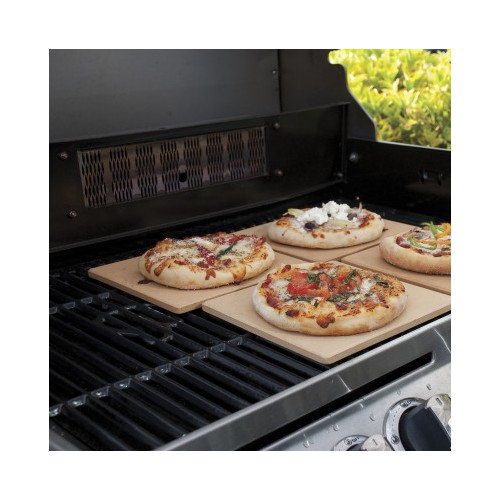 Pizzacraft Square Mini Pizza Stone Tiles-S/4 - 7.5""