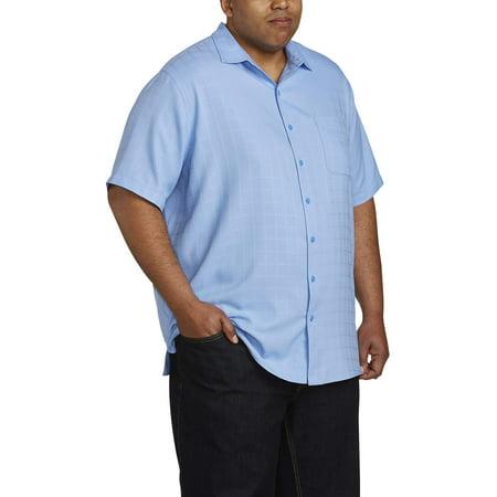 Canyon Ridge Men'S Short Sleeve Textured Microfiber Shirt