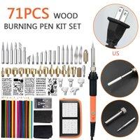 71PCS Wood Burning Pyrography Pen Kit For Wood Burning/Carving/Embossing/Solder