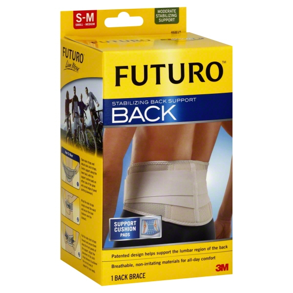 3M Futuro  Stabilizing Back Support, 1 ea
