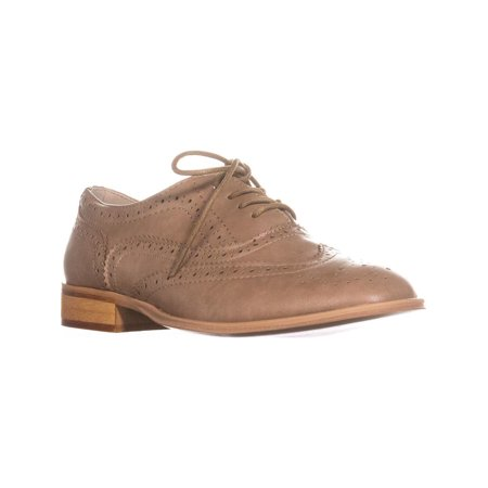 24bfbcccf12c8 Womens Wanted Babe Lace Up Oxfords, Taupe, 8 US