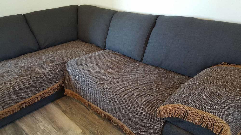 Faxu Linen Material Non Slip Sofa