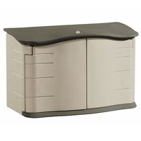 Rubbermaid 2' x 5' Split-Lid Storage Shed