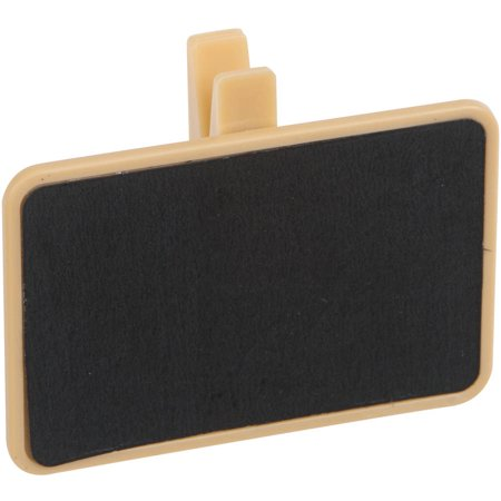 Chalkboard Food Label Clips, 4ct (Xl Black Label)