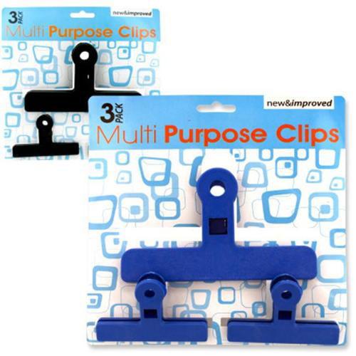 DDI 1277675 Multi-Purpose Clips- Assorted Colors Case Of 12