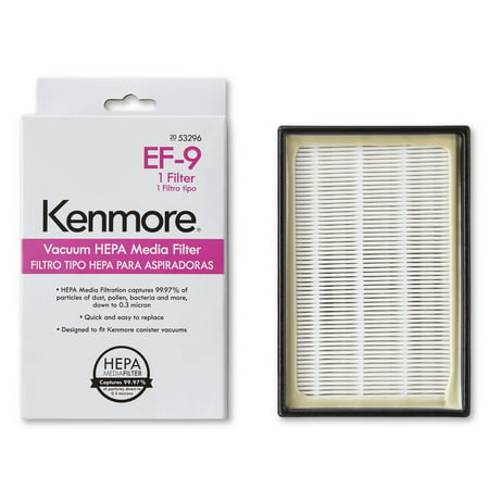 Kenmore 53296 HEPA Media Vacuum Exhaust Filter, - Enviracaire Hepa Media