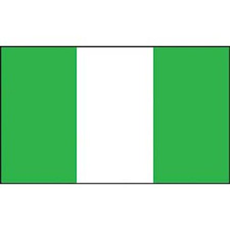 Nigeria Flag On A Stick 12