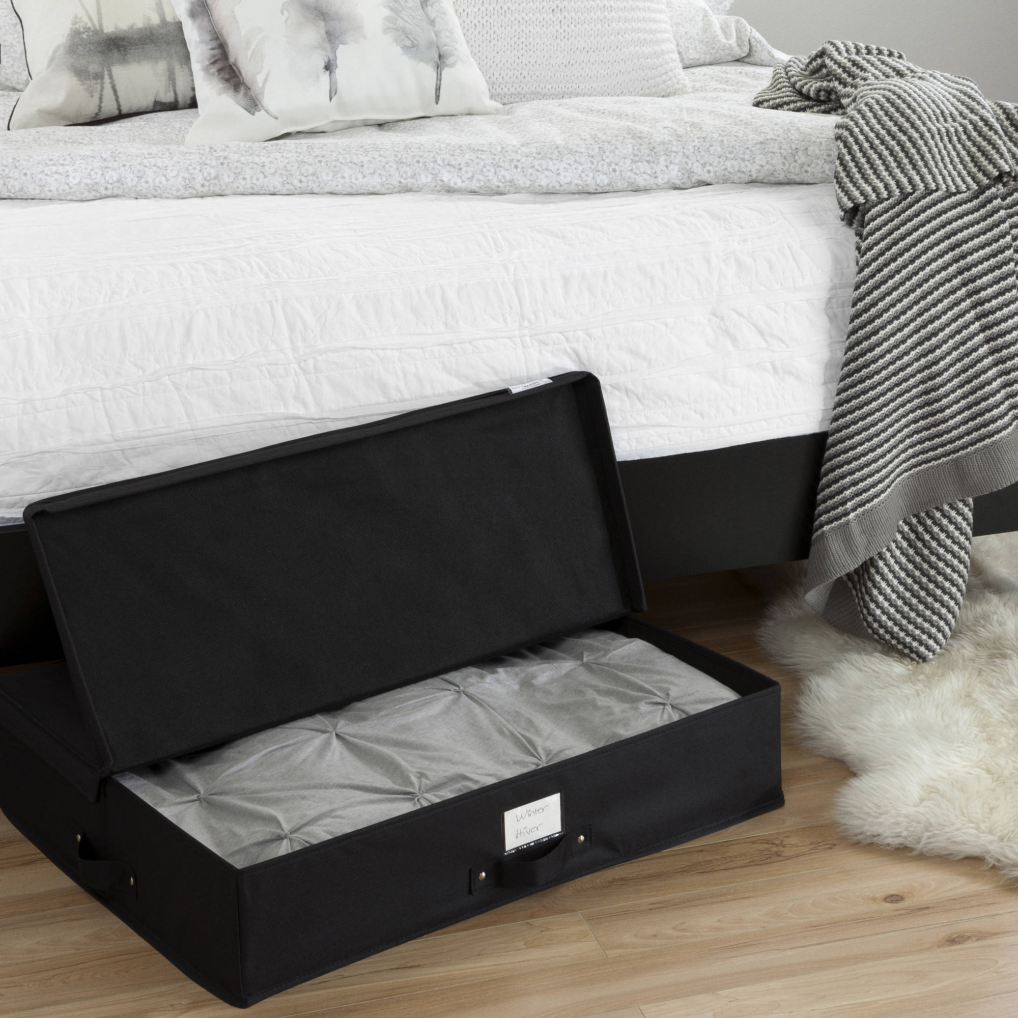 South Shore Storit Canvas Underbed Storage Box, Multiple Colors