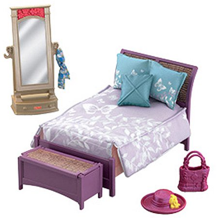 Fisher-Price Loving Family Deluxe Parents' Bedroom Play Set