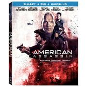 American Assassin (Blu-ray + DVD + Digital HD) by