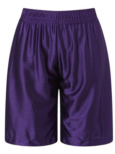 Richie House Boys Purple Leisure Classic Smooth Sports Shorts 9/10