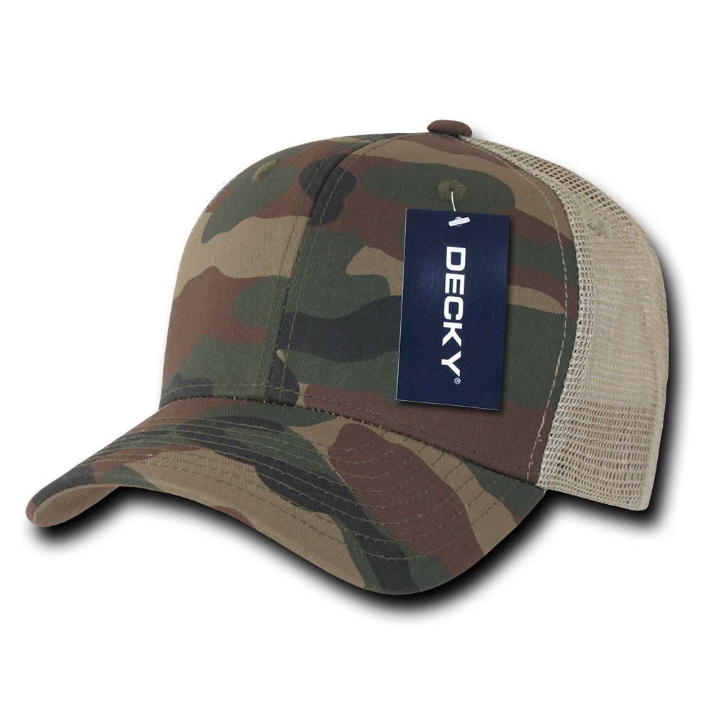 decky camouflage trucker hats hat cap caps snapback cotton